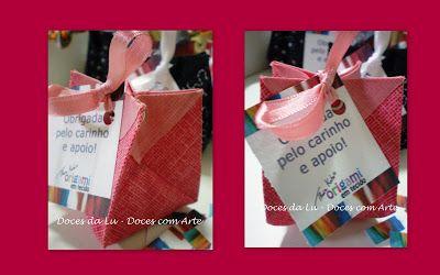 Doces da Lu: Mini trufas para a inauguração do atelier Thais Kato