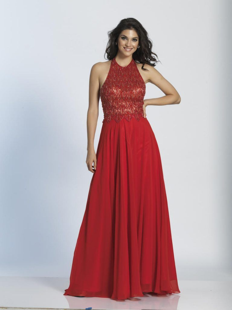 Halter chiffon gown halter chiffon prom gown formal evening