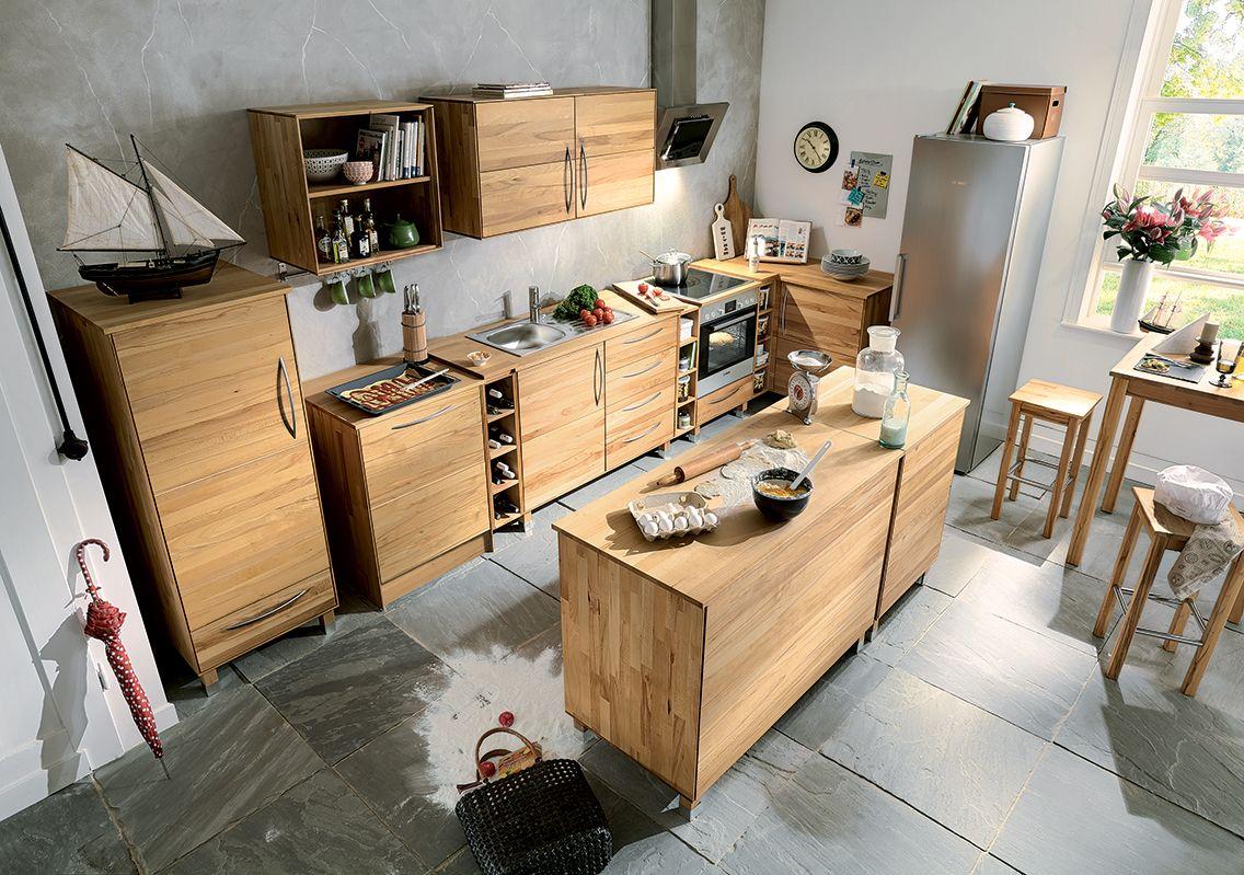 Die Kücheninsel \