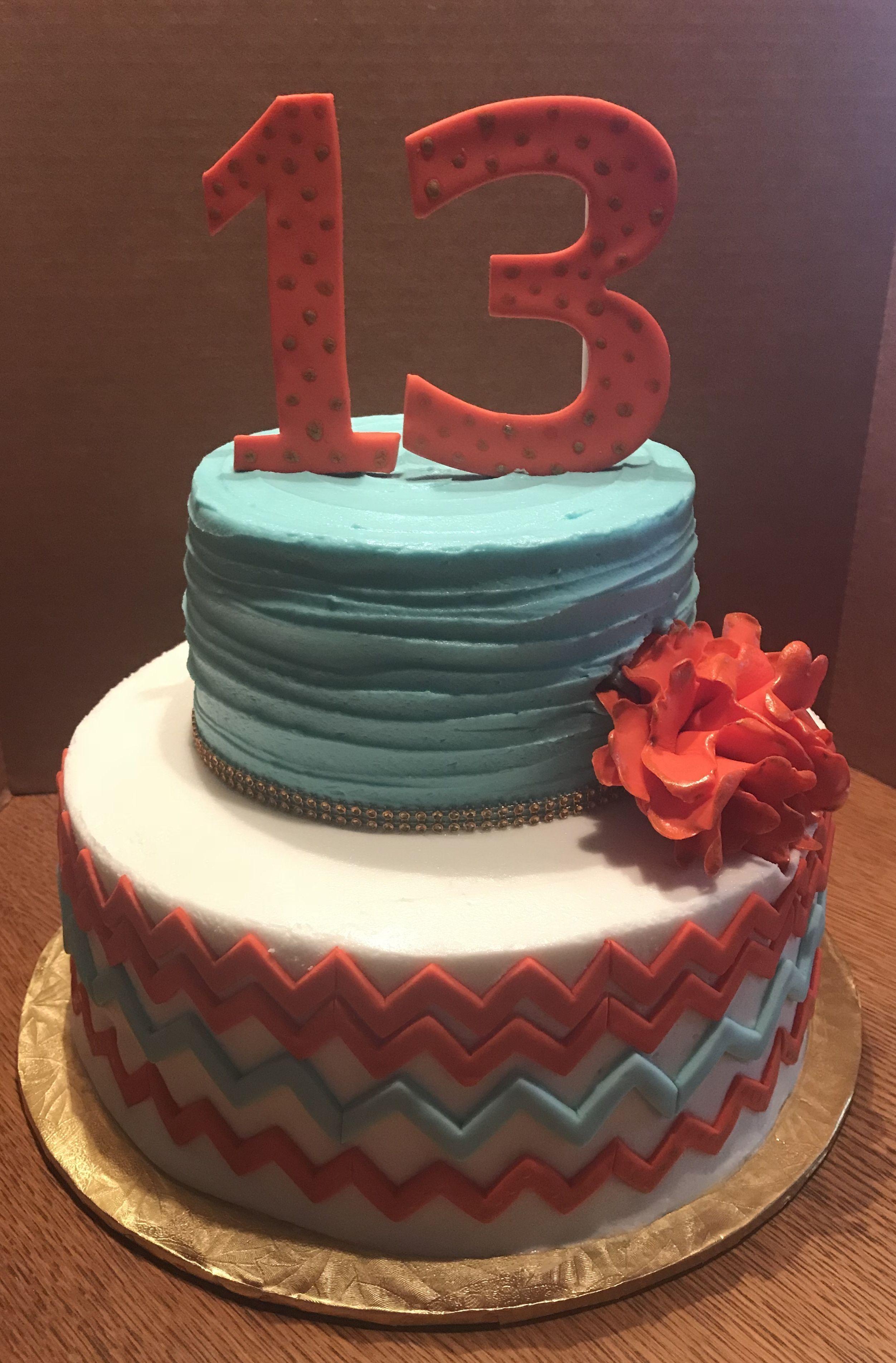 Teenage Girl Birthday Cakes Without Fondant