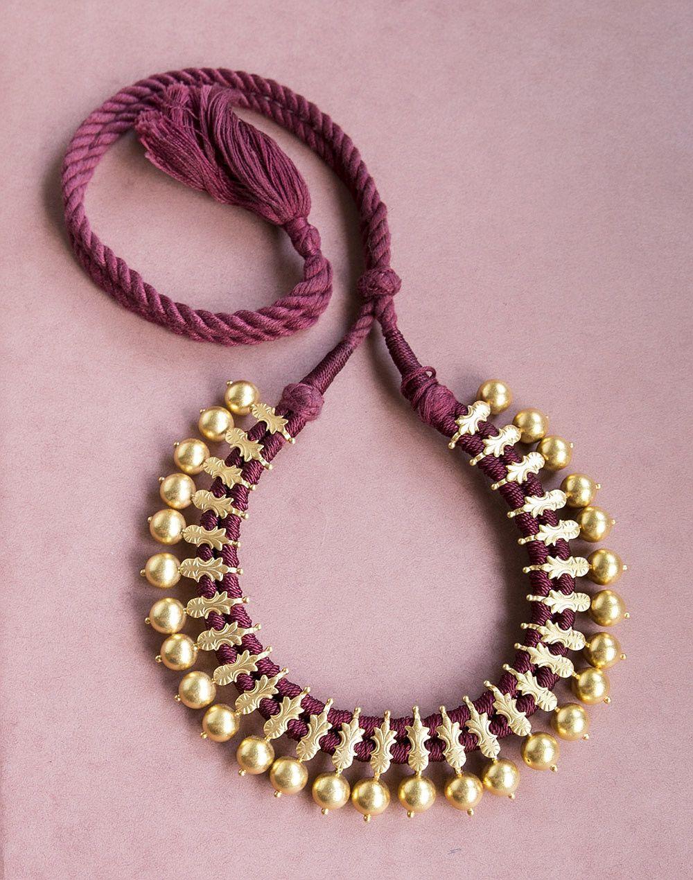 Silver Anusuya Choker Necklace. Free Shipping Worldwide. Explore ...