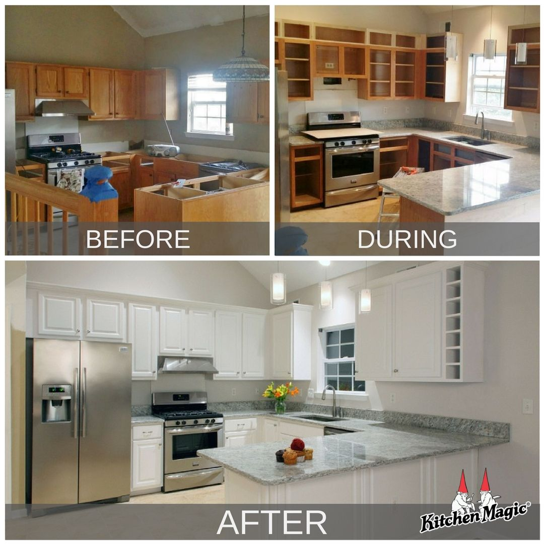 Yes You Can Reface And Increase Cabinet Size Refacing Kitchen Cabinets Kitchen Remodel Small Replacing Kitchen Countertops