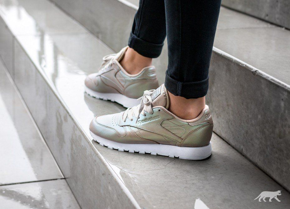 Reebok Classic Leather *Pearlized* (Champagne White