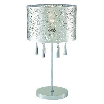 Table Lamps At Home Depot Beauteous Hampton Bay  Kyla Chrome Table Lamp  Itl165Bch  Home Depot Canada Decorating Design