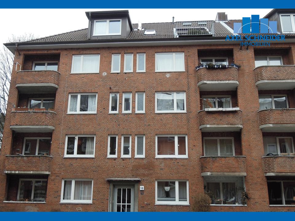2 Zimmer Wohnung Mit Zwei Balkonen In Winterhude Zu Mieten 2 Zimmer Wohnung Immobilienmakler Immobilien