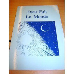 Dieu Fait Le Monde / French Children's Bible Story Book about CREATION / L'historie de la Creation en Francais Fondamental  $5.99