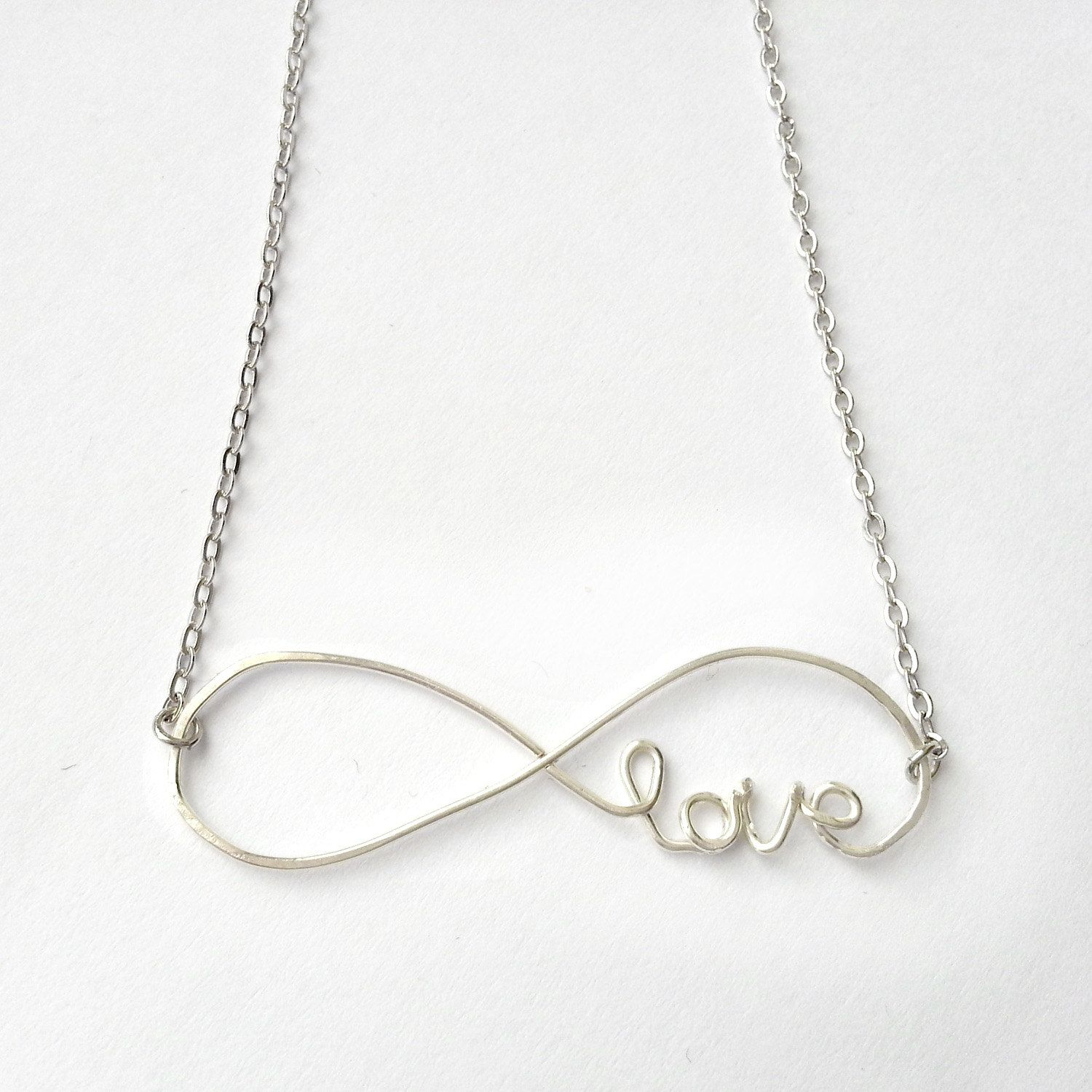 So gorgeousfinity love necklace accessorize pinterest infinity love necklace infinite love necklace by fiorejewellery aloadofball Images