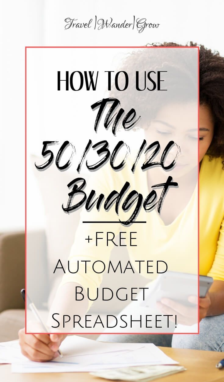 The 50/30/20 Budget Spreadsheet | Overview and Calculator