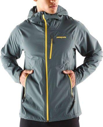 0466d4b759 Patagonia Men s Stretch Rainshadow Jacket Nouveau Green XXL