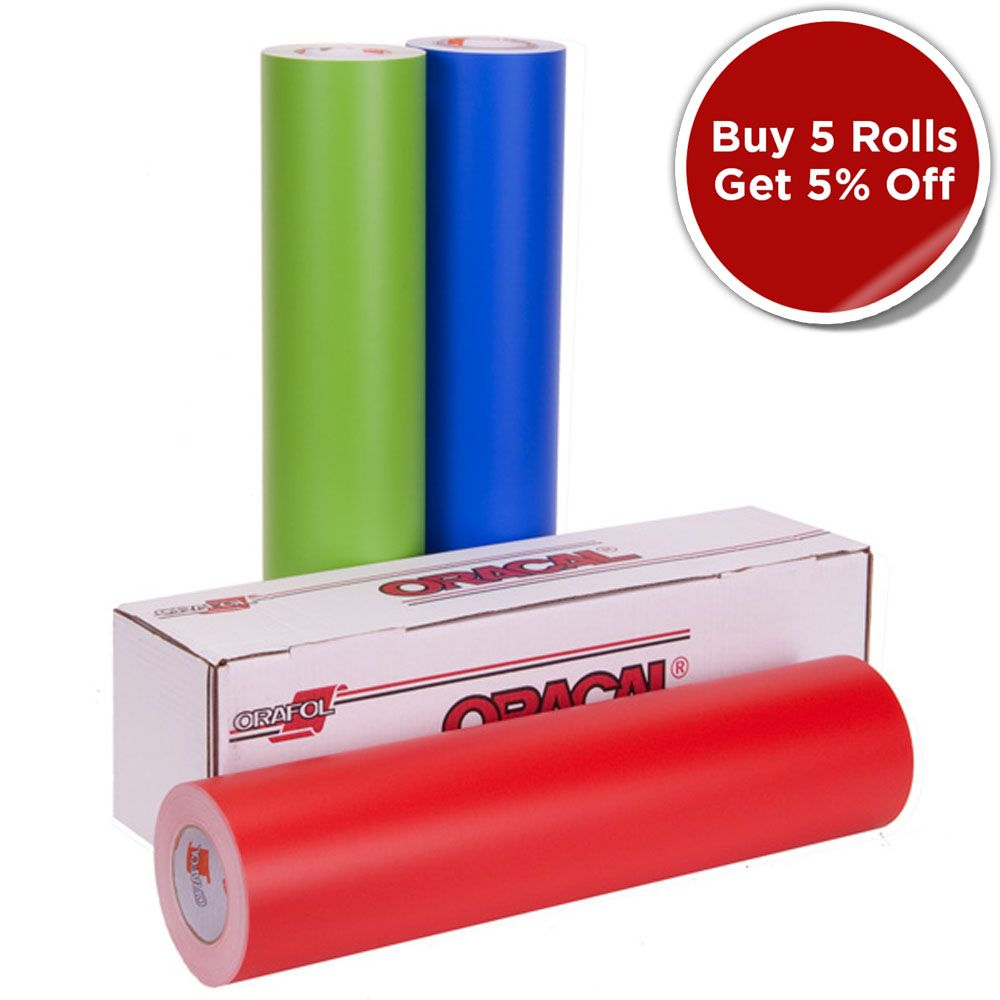 Orafol Oracal 631 Vinyl Rolls For Indoor Graphics And Lettering Oracal Oracal 631 Vinyl Rolls