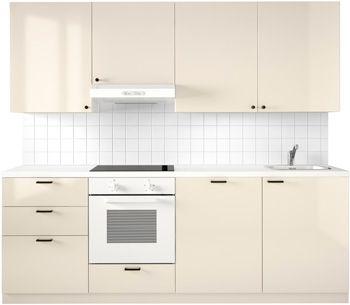 variera waste sorting bin, black   kitchen yellow, glass doors and