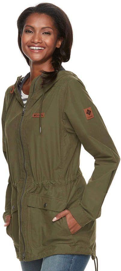 6b1cc606cf517 Columbia Women s Cultus Lake Hooded Anorak Jacket