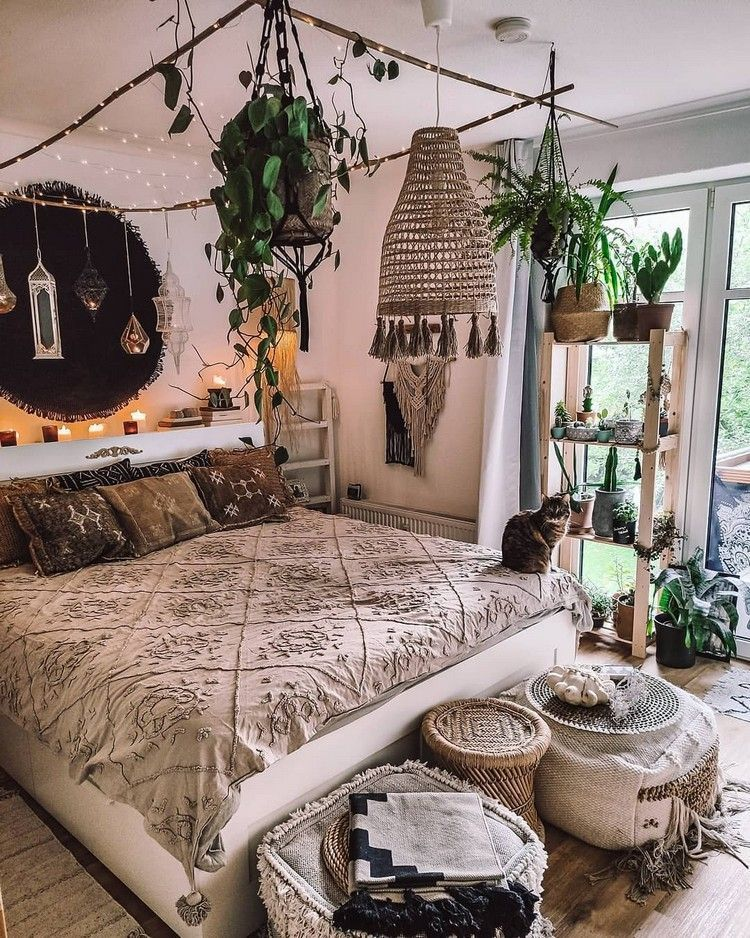 Photo of Awesome Bohemian Bedroom Designs and Decor
