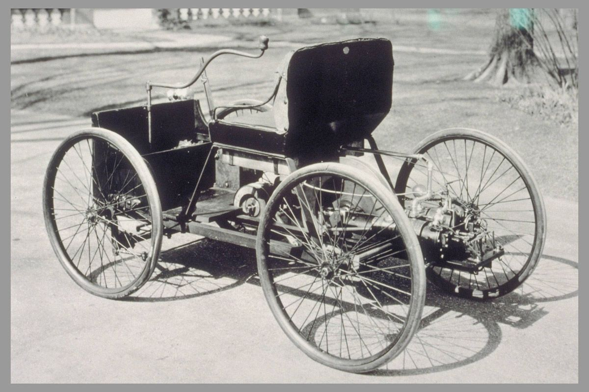 1896 Ford Quadricycle Concept Cars Antique Cars Henry Ford
