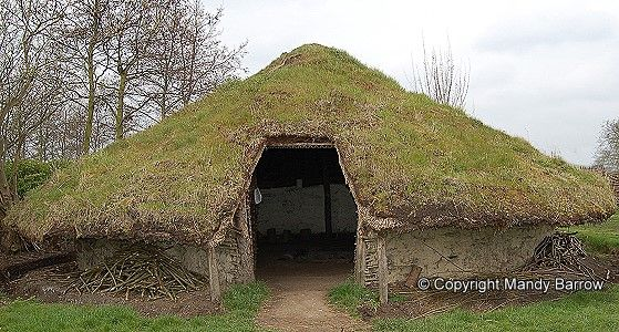 Round House Celtic Round Houses The Celtic Tribes Lived In