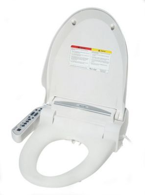 Spt Appliance Inc Magic Clean Bidet With Dryer Elongated