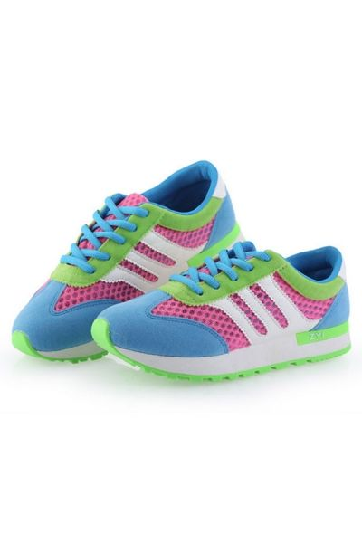 Mesh Colorblocked Sneaker