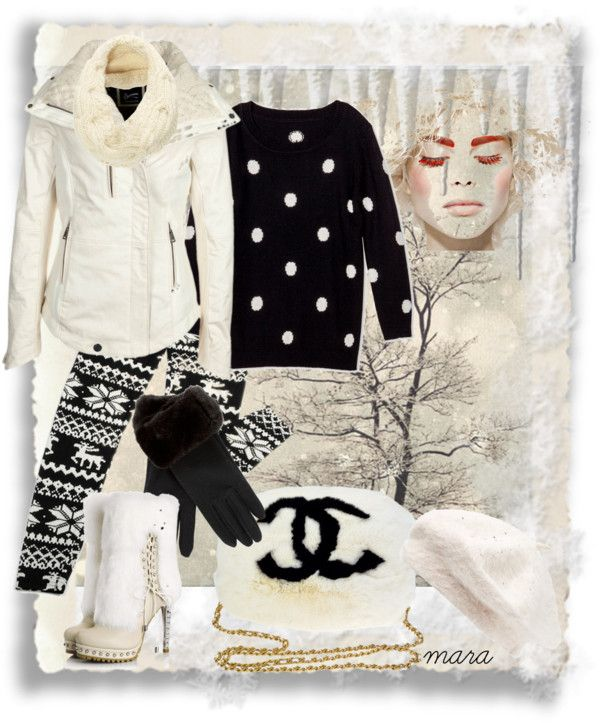 """""""Cold an snowing the whole day"""" by marastyle ❤ liked on Polyvore"""