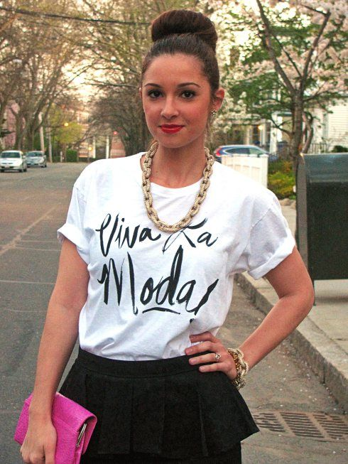 La Mariposa Blog: Viva la Moda Tee by Sincerely, Jules