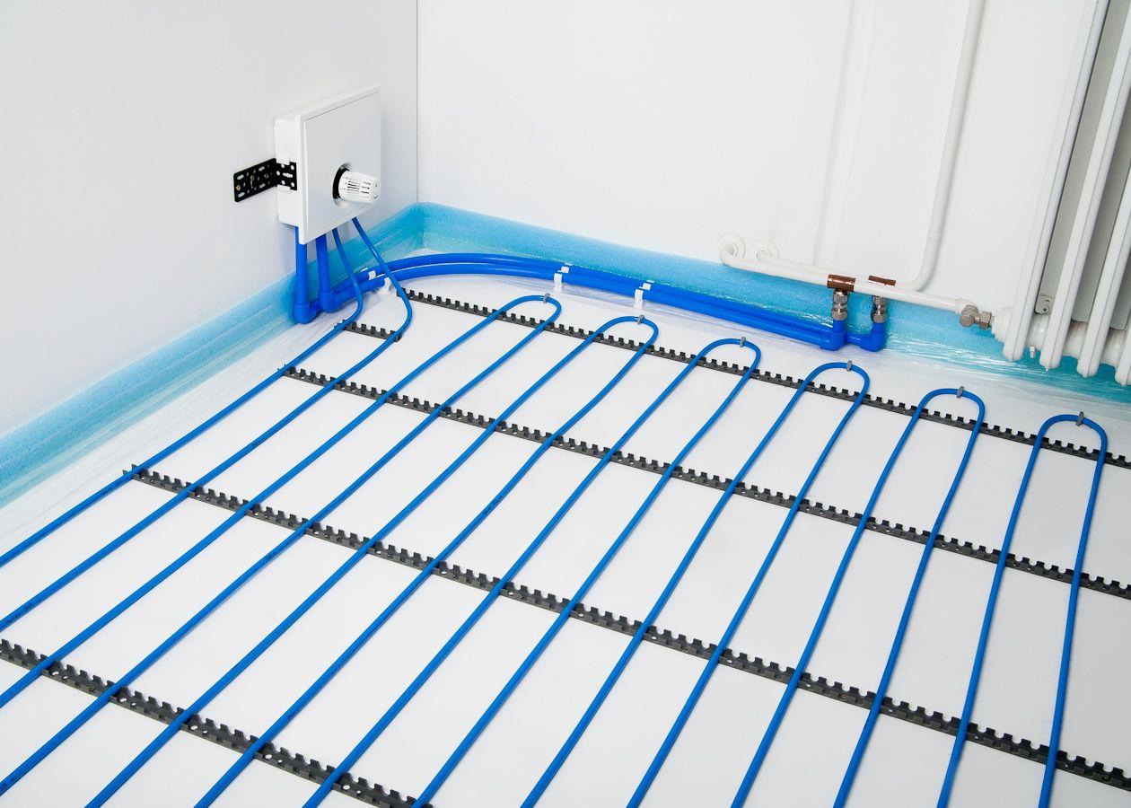 Dunnbett Fussbodenheizung Nachtraglich Verlegen Flexiro Set Fussbodenheizung Hausverkleidung Badezimmer Renovieren