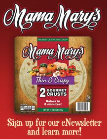 al fresco® sign up for Mama Mary's e-newsletter!