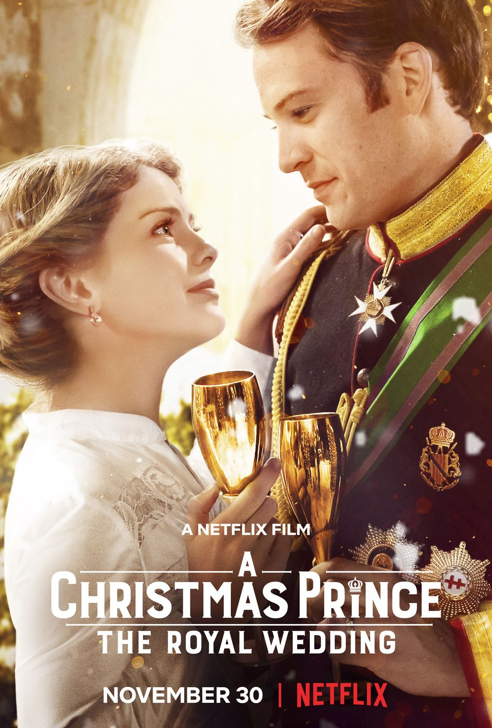 Return To The Main Poster Page For A Christmas Prince The Royal