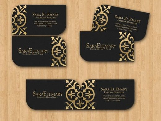 fashion business cards on pinterest beauty business