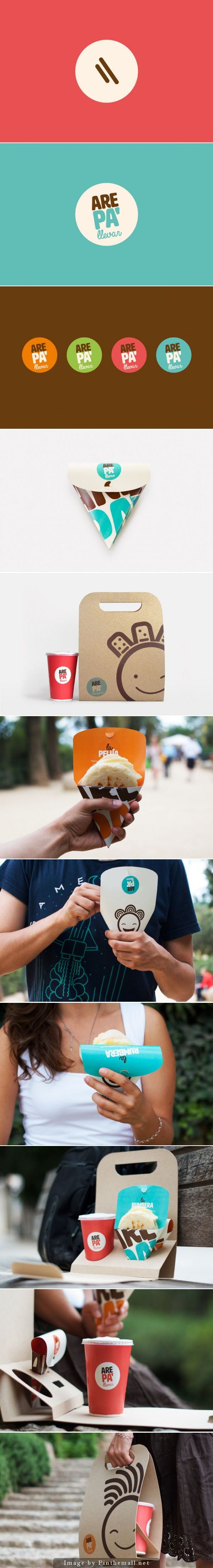 Arepa' (Student Project), Designers: Diego Frayle & Duriana Rodríguez - http://www.packagingoftheworld.com/2014/10/arepa-student-project.html
