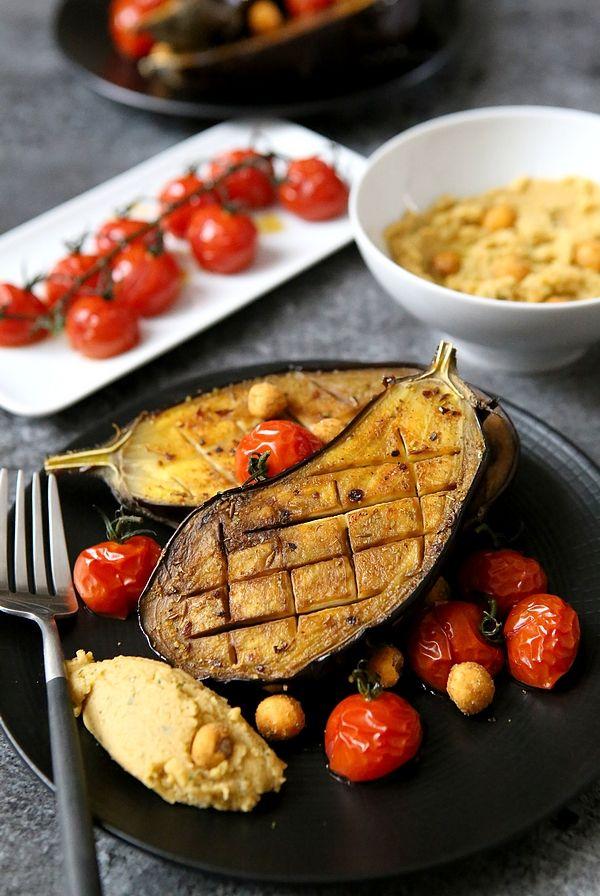 Aubergines rôties au four | Recette | légumes | Recette ...
