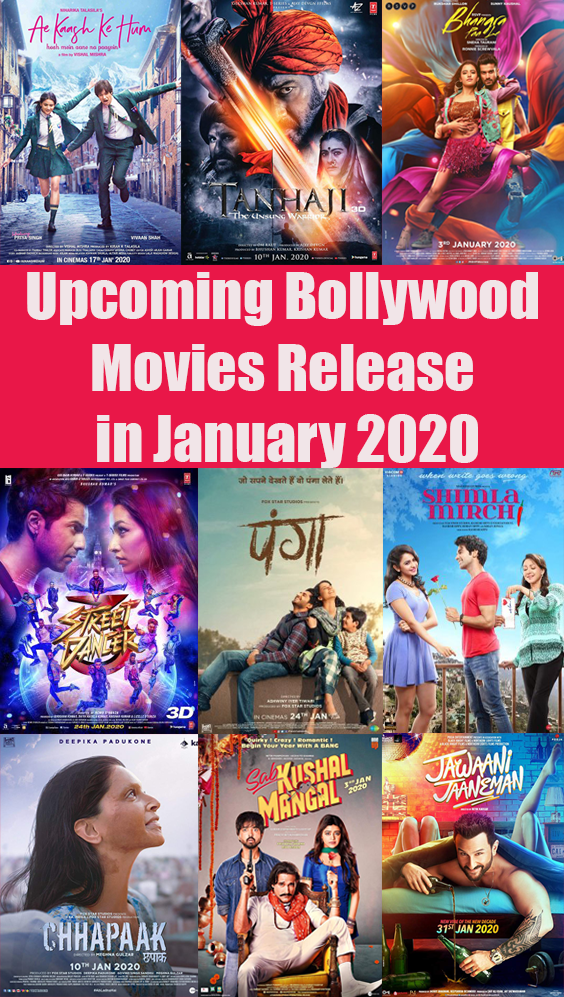 Here is the list of Bollywood Movies Release in