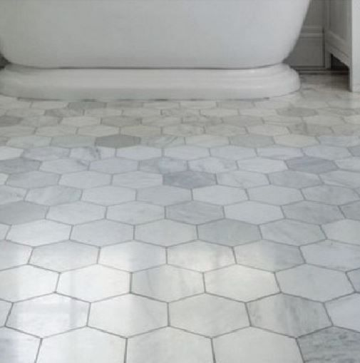 Large Octagon Shower Tile New Townhouse Bathroom On