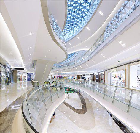 Gemdale lake town dajing shopping mall lighting design - Interior design lighting companies ...