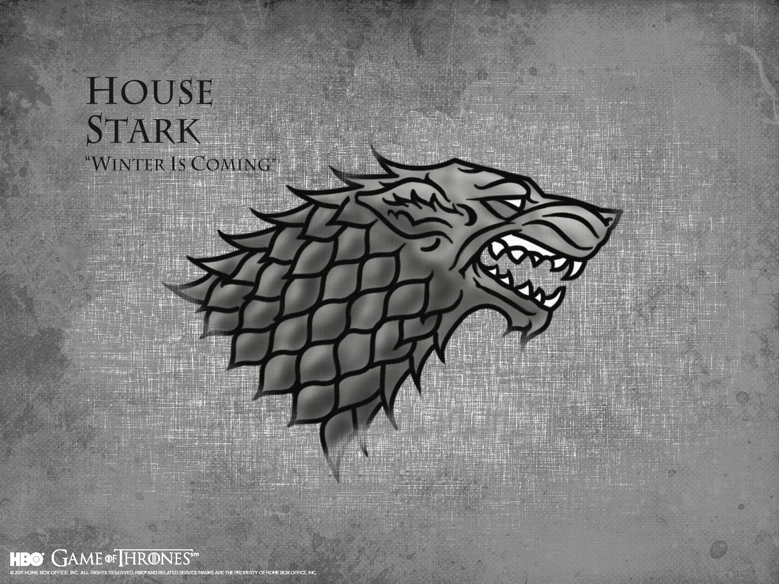 Game Of Thrones Wallpaper House Stark Game Of Thrones Houses House Stark Winter Is Coming Stark