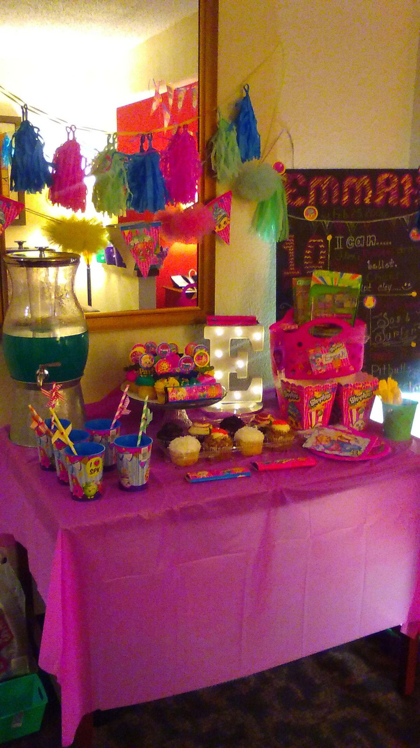 Hotel Sleep Over Birthday Party Ideas