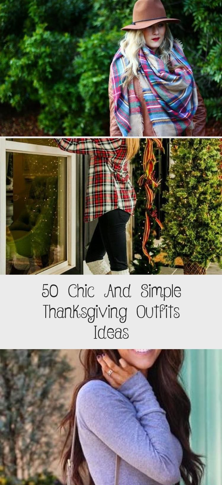 50 Chic And Simple Thanksgiving Outfits Ideas - Women #thanksgivingoutfit