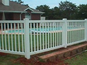 Universal pool fence pretty pool fencing ideas pinterest for Pretty fencing ideas