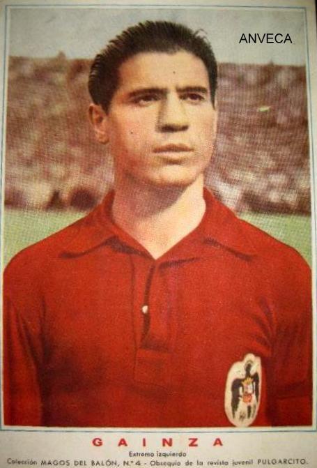 GAINZA (Selección Española - 1950) Rev. Pulgarcito | Seleccion de futbol de  españa, Seleccion española de futbol, Equipo de fútbol