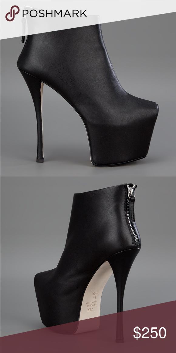 8b6a15113815b Giuseppe Zanotti Women's Black Platform Ankle Boot Giuseppe Zanotti Women's  Black Platform Ankle Boots. Size 37 1/2. Celebrity top wear.