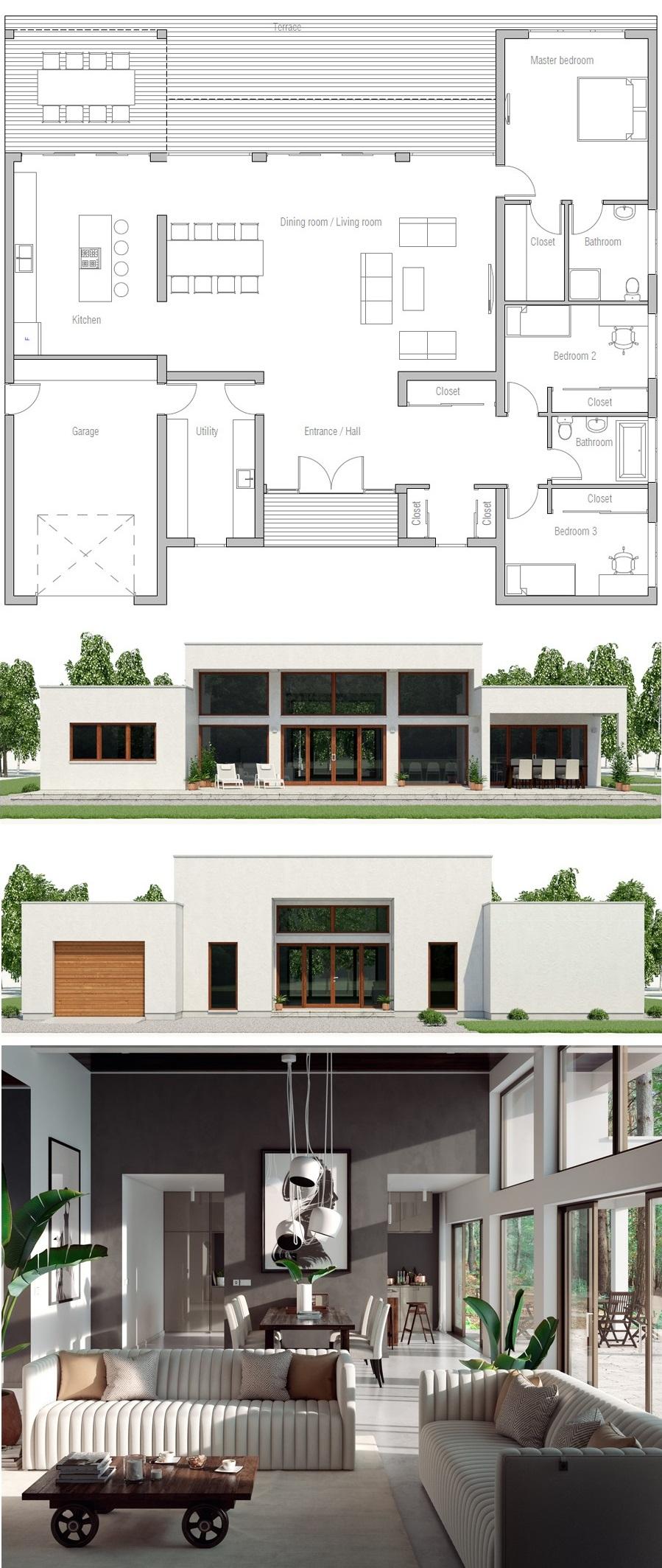 Glass House 70 Log Cabin Kontio Tiny House Cabin House Plans House Floor Plans