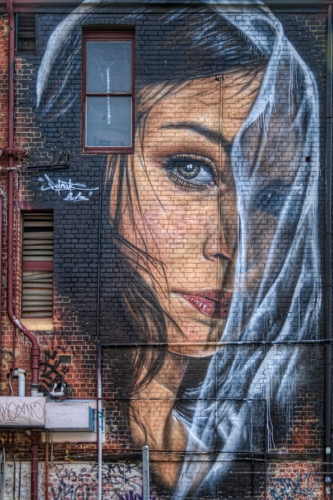Blauwe aap - blue monkey - #tzolkin - take a good look around today, be curious - Artist: Adnate - Fitzroy, Melbourne