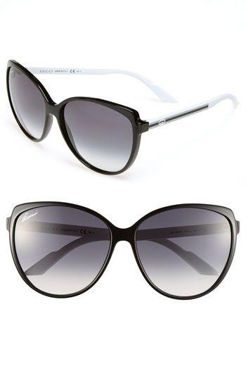 8fa42d648e Gucci Stripe 60mm Cat Eye Sunglasses (Online Only)
