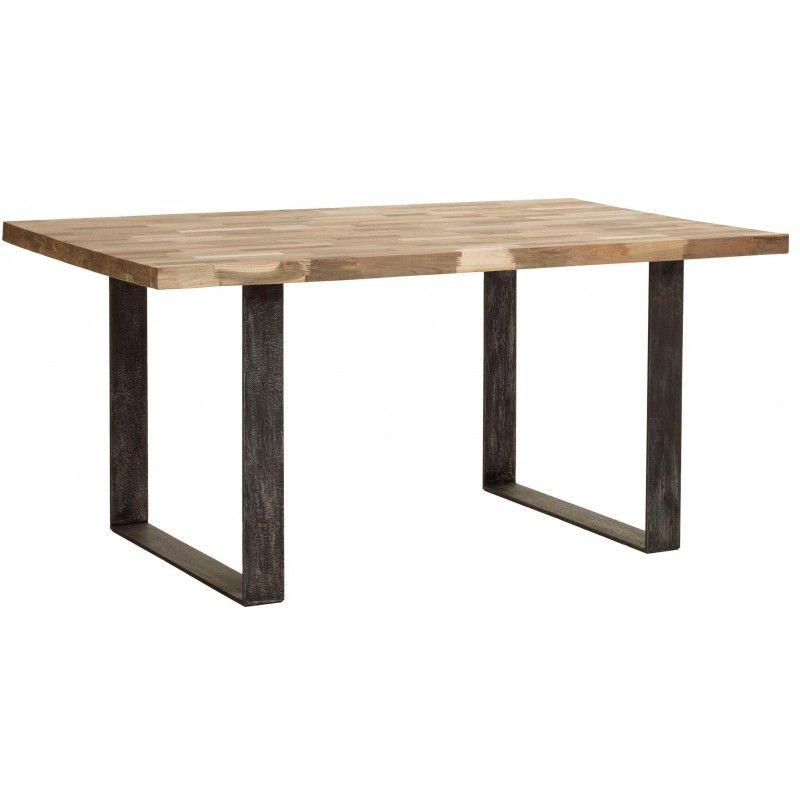 Beau Table Bois Pieds Metal #10: Explorez Pied Table, Table Bois Et Plus Encore !