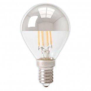 Calex™ E14 Filament LED Kogellamp Kopspiegel 4.0W=35W Warmwit 2700K -120° 425124