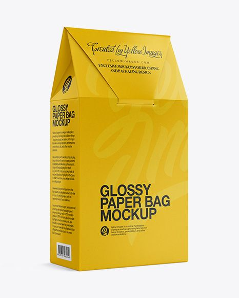 Download Glossy Paper Box Mockup Half Side View In Box Mockups On Yellow Images Object Mockups Free Packaging Mockup Mockup Free Psd Box Mockup