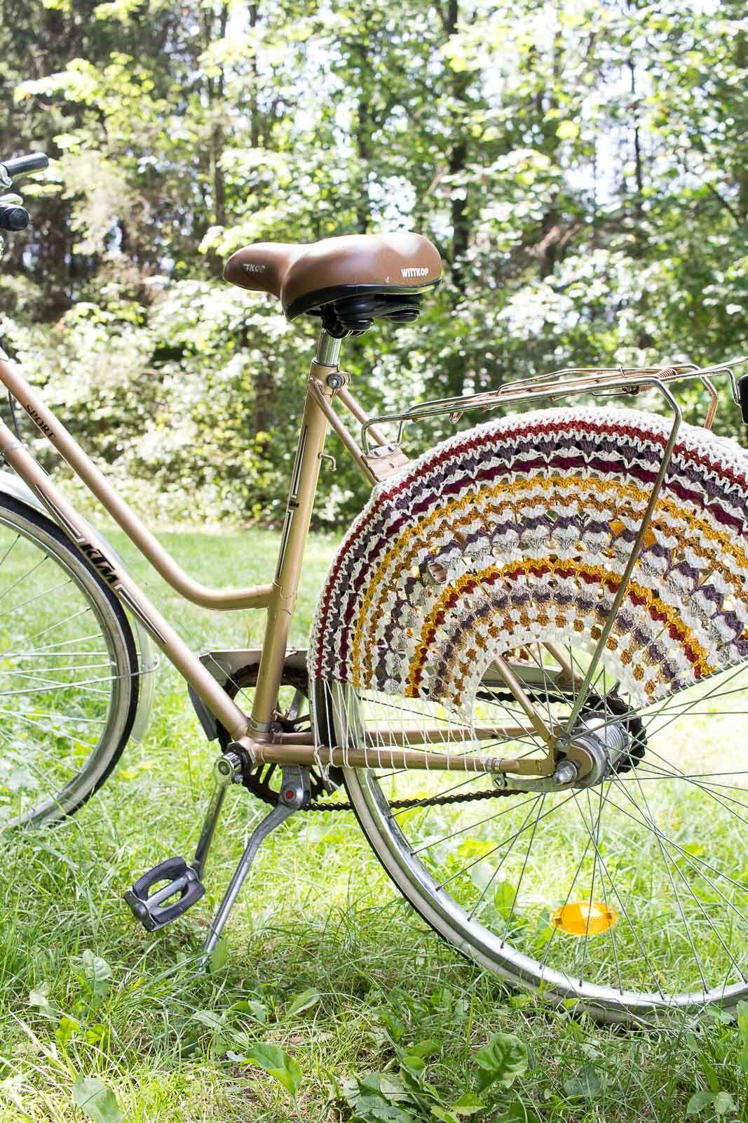 Gehakeltes Fahrradnetz Diy Selber Machen Anleitungen Fahrrad