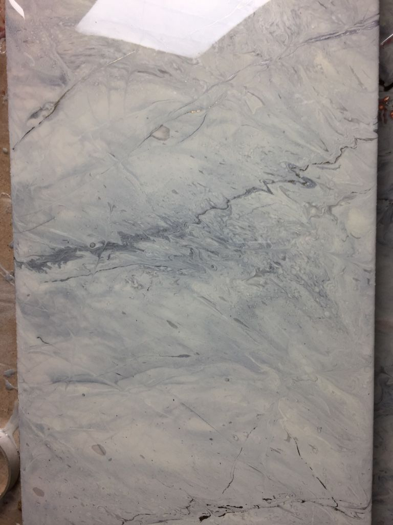White Marble Epoxy Sample Revive And Resurface Those Old Countertops Create Your Own Stunning