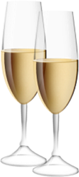Transparent Champagne Flutes Clipart Wine Glass Champagne
