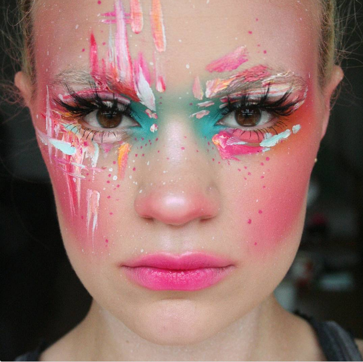 How This Avant-Garde Makeup Artist Is Owning Instagram ...