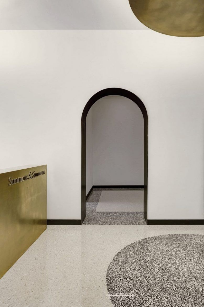 Arched Interiors: Yay or Nay | PBV I reception desk | Arch