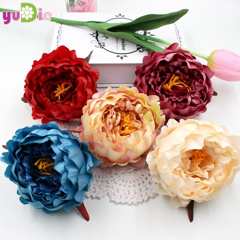 Big size 1pcs peony flower bouquet palace emperor rose silk flower big size 1pcs peony flower bouquet palace emperor rose silk flower rose bouquet wedding decoration artificial izmirmasajfo